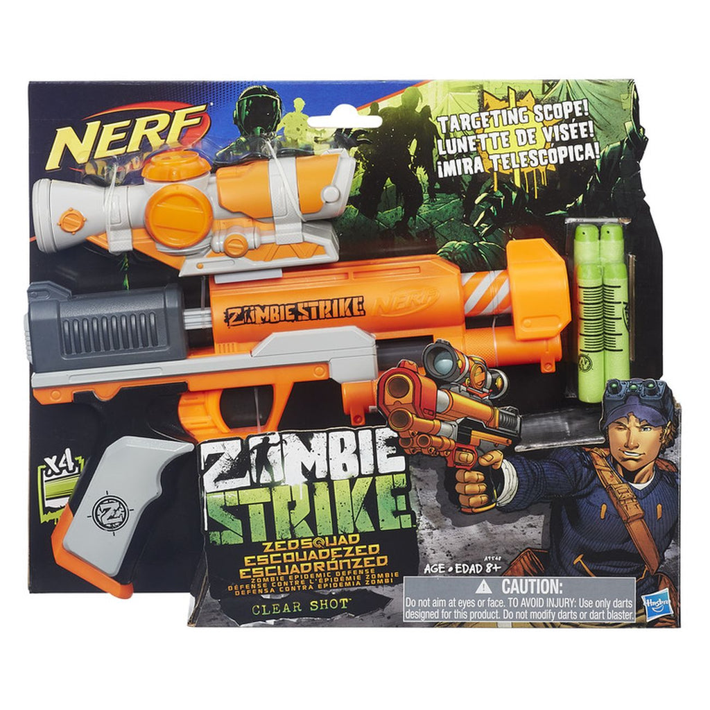 Nerf Zombiestrike Clear Shot - Toyworld
