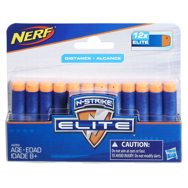 NERF ELITE DART 12 PACK