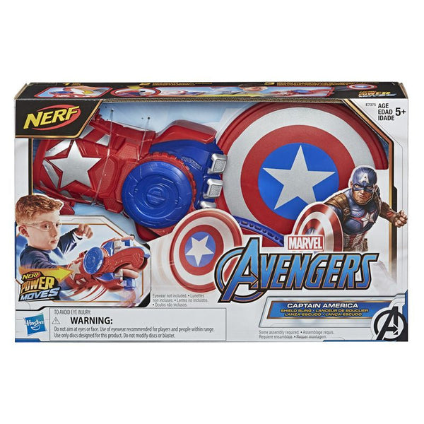 NERF AVENGERS POWER MOVES CAPTAIN AMERICA
