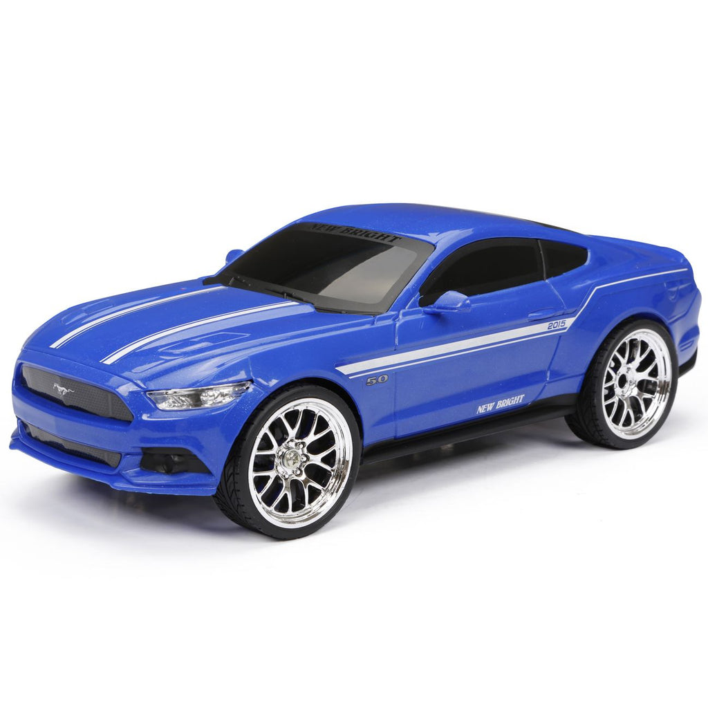 New Bright 1:16 Remote Control Sport 2015 Ford Mustang Gt Assorted Styles - Toyworld