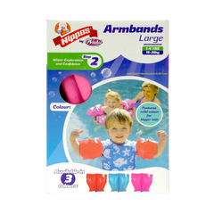 Nippas Arm Bands 2-6 Years Large - Toyworld
