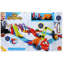 Oball Go Grippers Launch & Roll Train - Toyworld