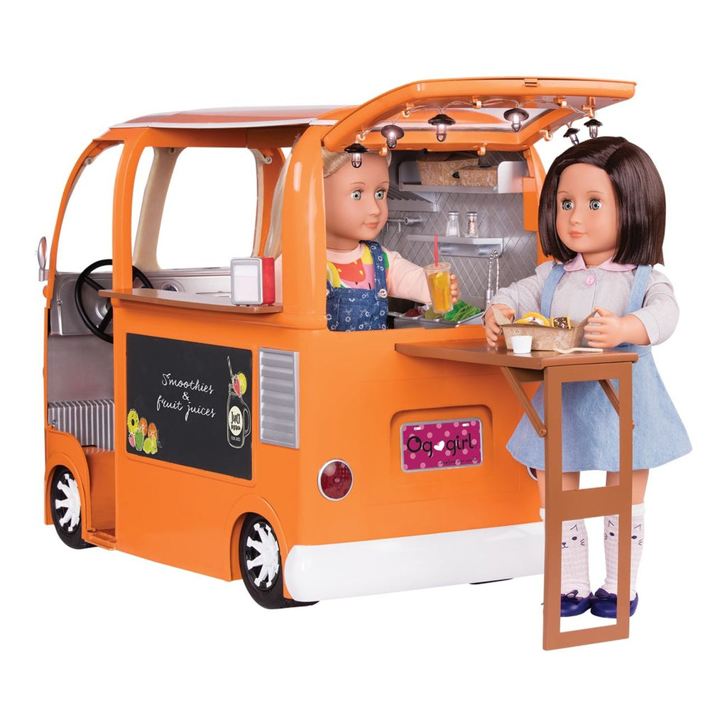 Our Generation Grill To Go Food Truck - Toyworld