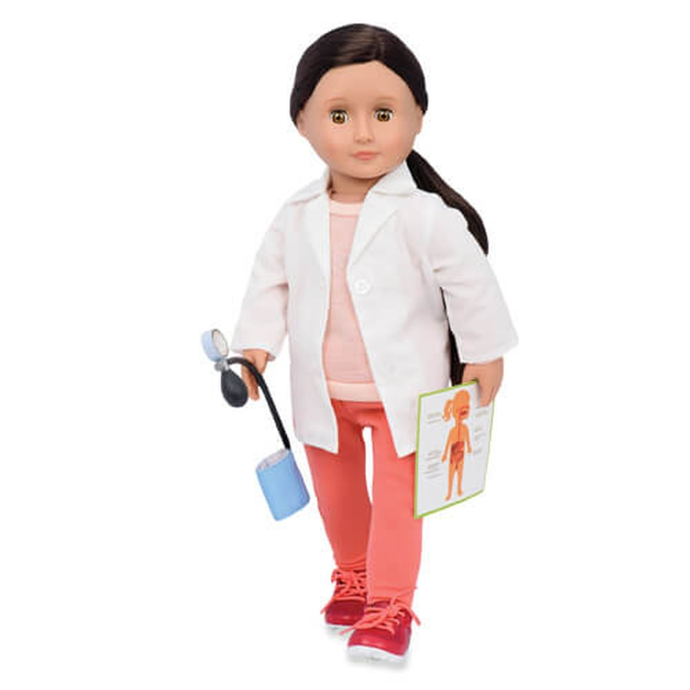 OUR GENERATION FAMILY DOCTOR DOLL NICOLA