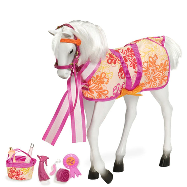 Our Generation Horse Lipizzaner Foal For 45cm Doll - Toyworld