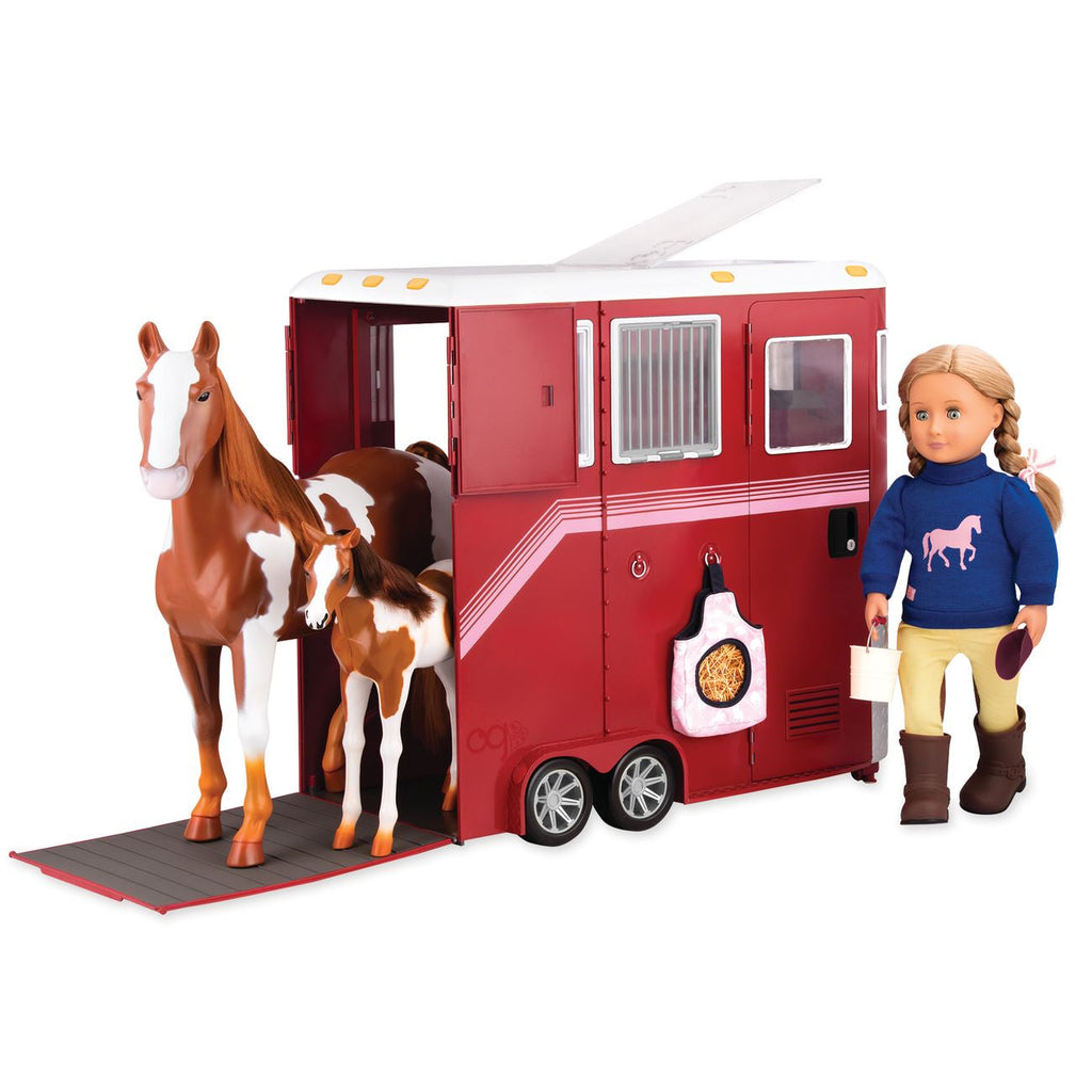 OUR GENERATION HORSE TRAILER MANE ATTRACTION