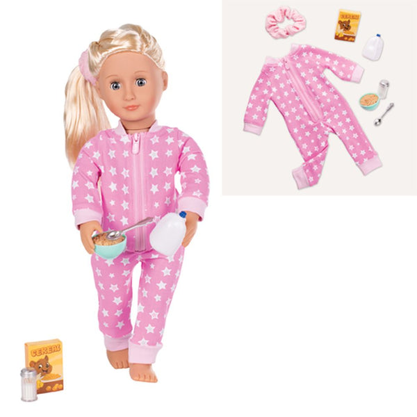 Our Generation Regular Outfit Onesies Funzies Pyjamas - Toyworld