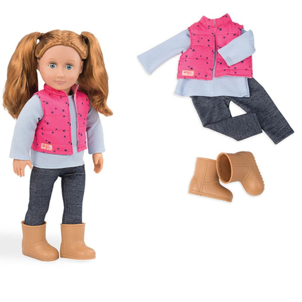 Our Generation Regular Outfit Trekking Star Vset With Trousers - Toyworld