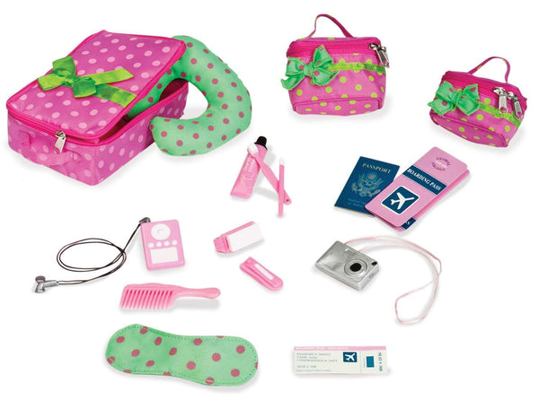Our Generation Accessory Set Luggage & Travel Set - Toyworld