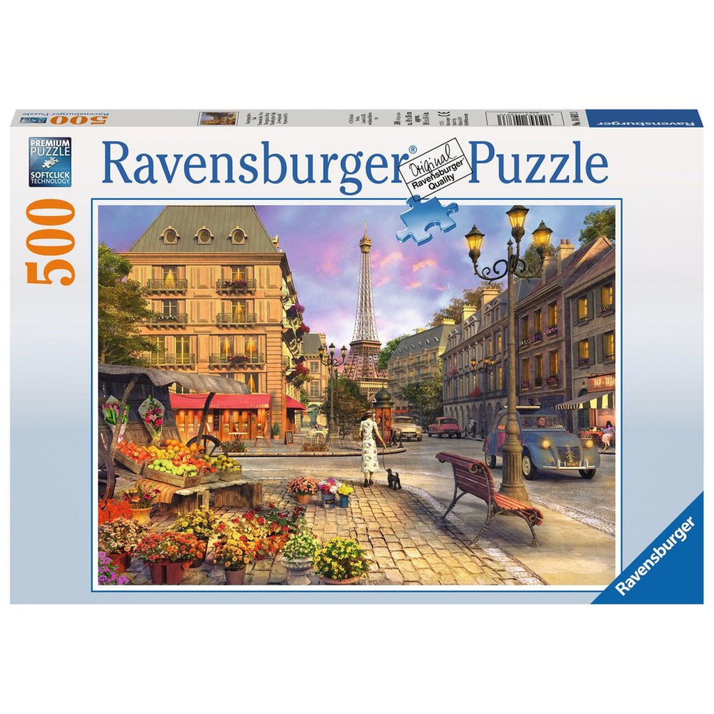 RAVENSBURGER A WALK THROUGH PARIS 500 PIECE