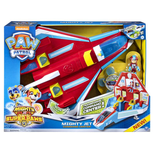 PAW PATROL MIGHTY PUPS SUPER PAWS MIGHTY JET