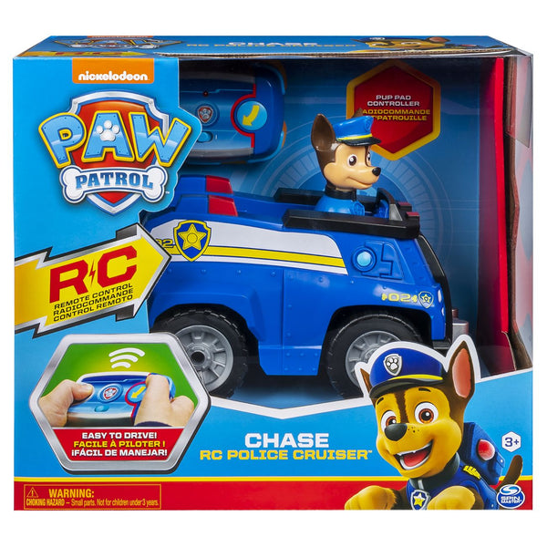 Paw Patrol Remote Control Chases Police Cruiser - Toyworld