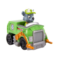 Paw Patrol Rescue Racer Vehicle Rocky Garbage Truck - Toyworld