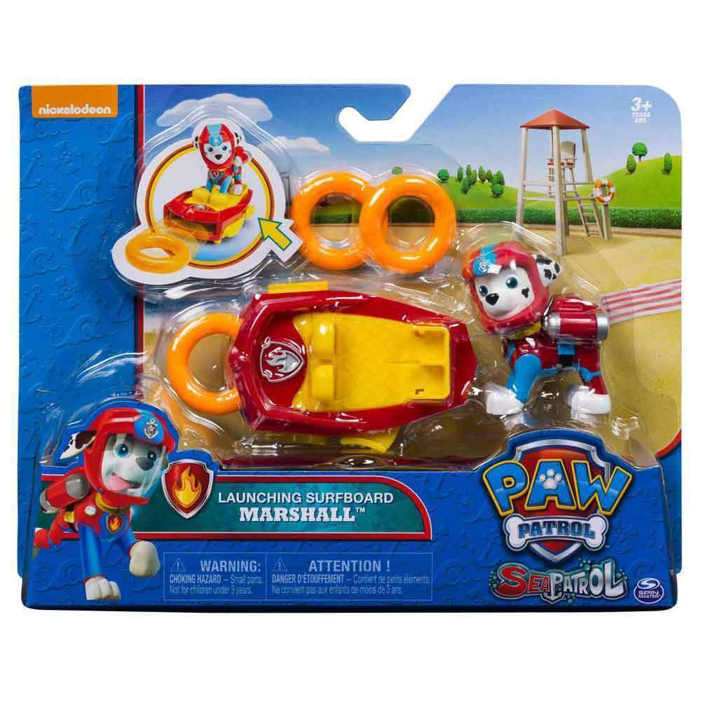 Paw Patrol Sea Patrol Deluxe Figures Marshall - Toyworld