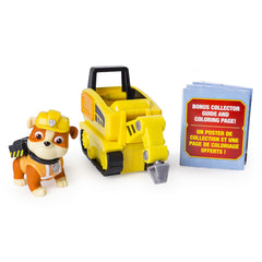Paw Patrol Ultimate Rescue Mini Vehicle Rubble Img 1 - Toyworld