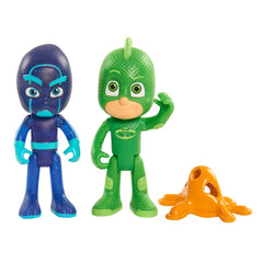 Pj Masks Duet Figure Gekko & Night Ninja Img 1 - Toyworld