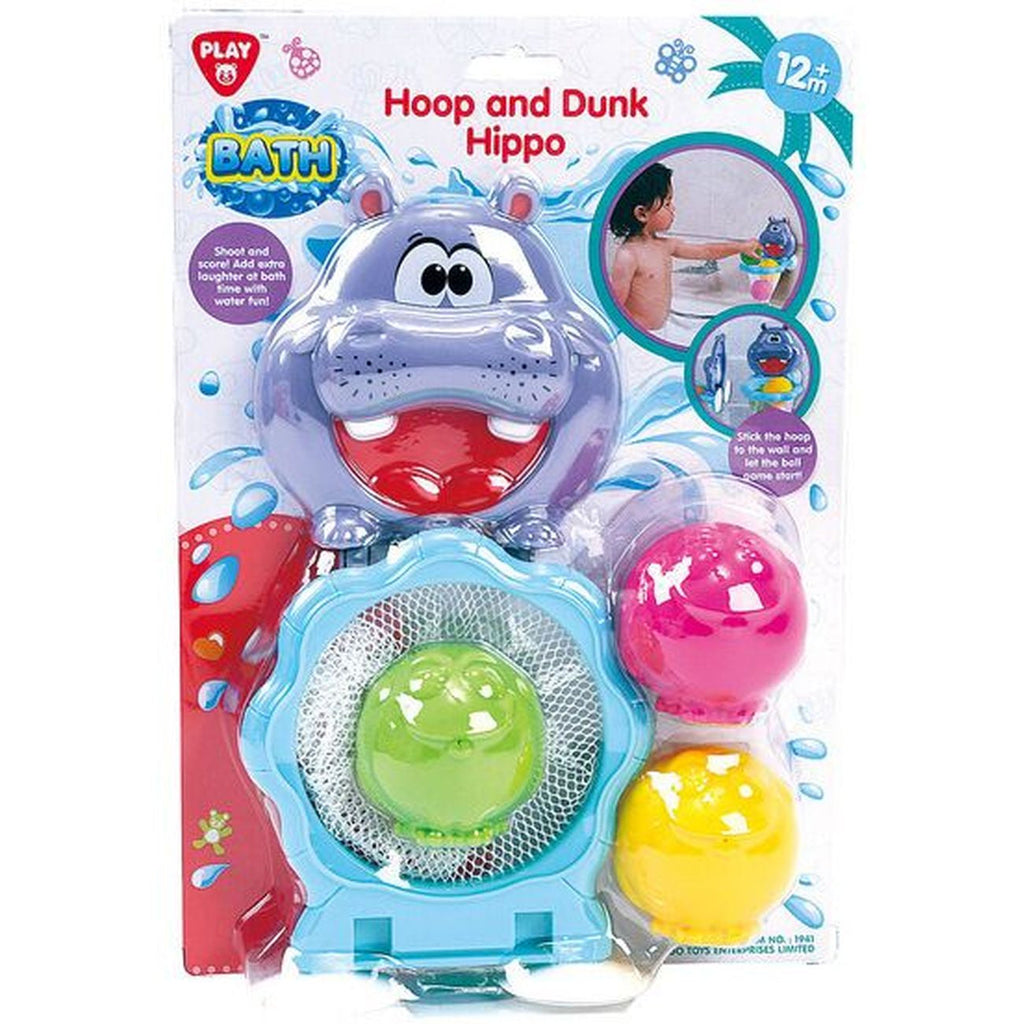 Playgo Hoop & Dunk Hippo - Toyworld