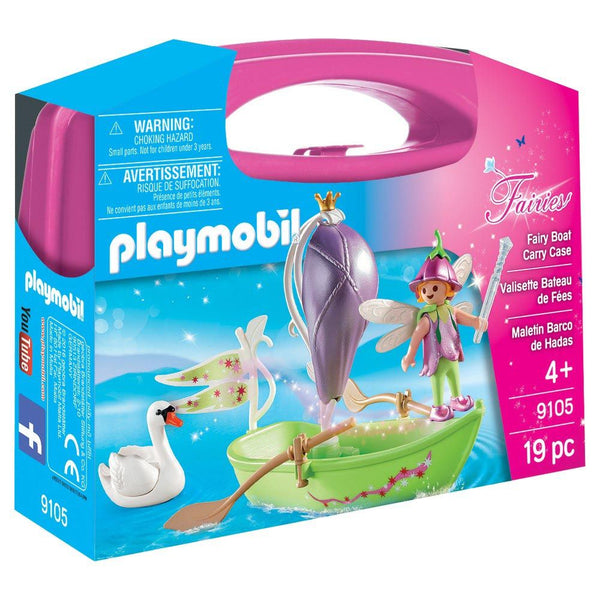 PLAYMOBIL 9105 FAIRY BOAT CARRY CASE