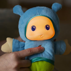 Playskool Lullaby Glow Worm Blue Img 1 - Toyworld