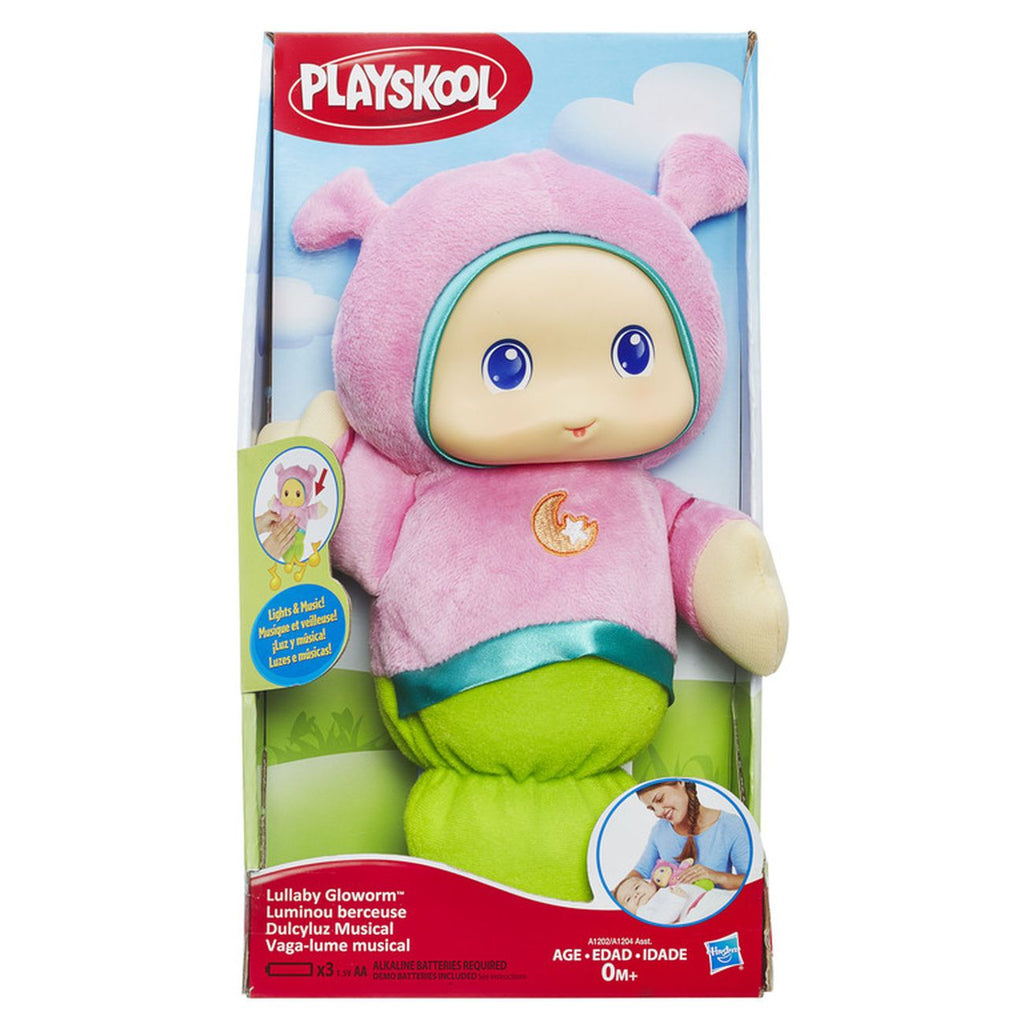 Playskool Lullaby Glow Worm Pinkja - Toyworld