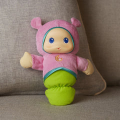 Playskool Lullaby Glow Worm Pinkja Img 2 - Toyworld