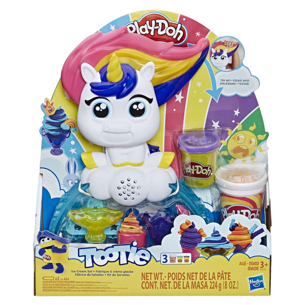 Play Doh Tootie Ice Cream Set - Toyworld