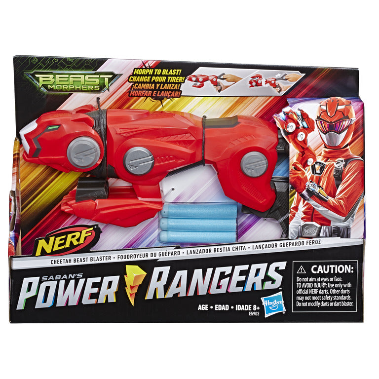 Power Rangers Beast Morphers Cheetah Beast Blaster - Toyworld