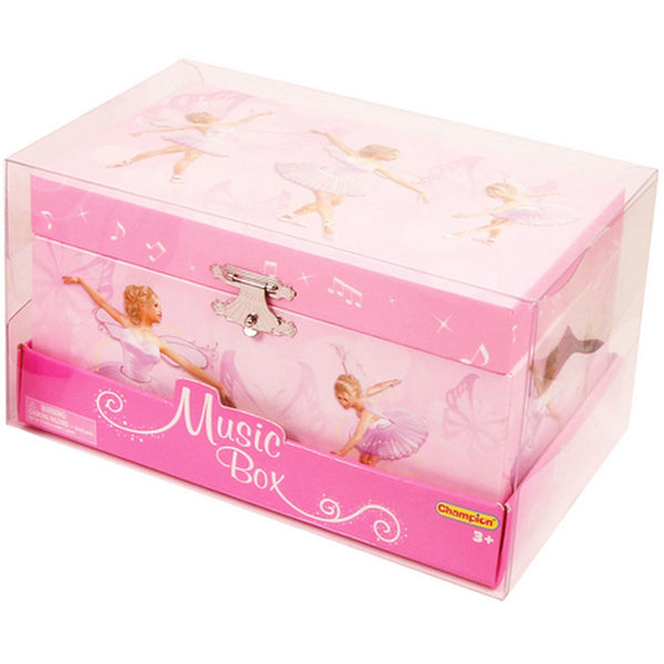 Pink Ballerina Music Box - Toyworld