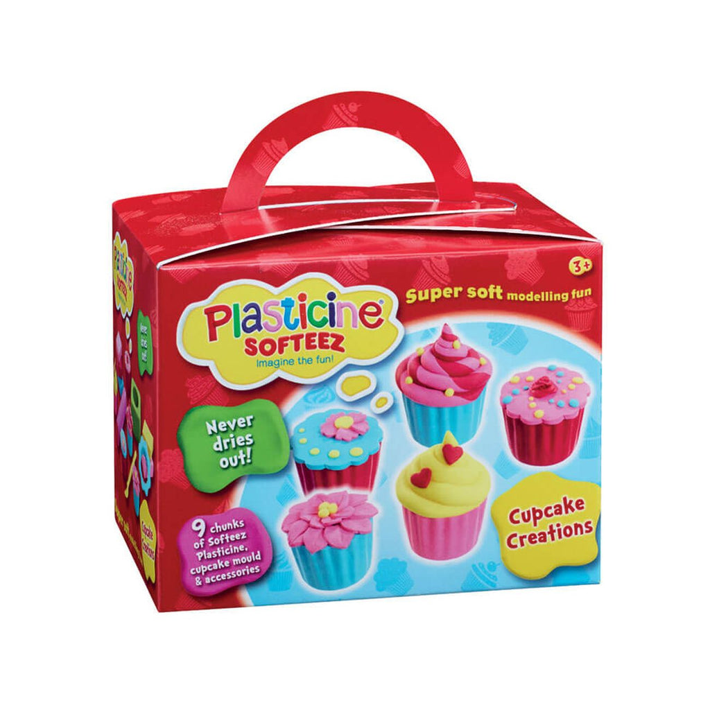 Plasticine Softeez Cupcake Creation - Toyworld