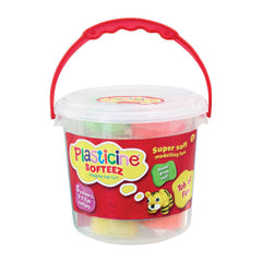 Plasticine Softeez Tub - Toyworld