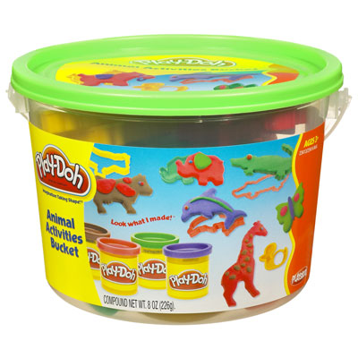 Play Doh Animal Mini Bucket 1 - Toyworld