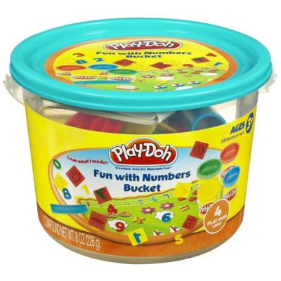 Play Doh Numbers Mini Bucket - Toyworld