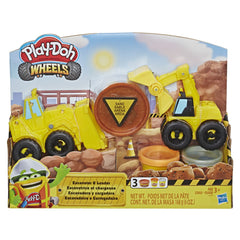 Playdoh Wheels Excavator Loader - Toyworld