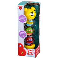 PLAYGO CHEEKY BEAR RATTLE