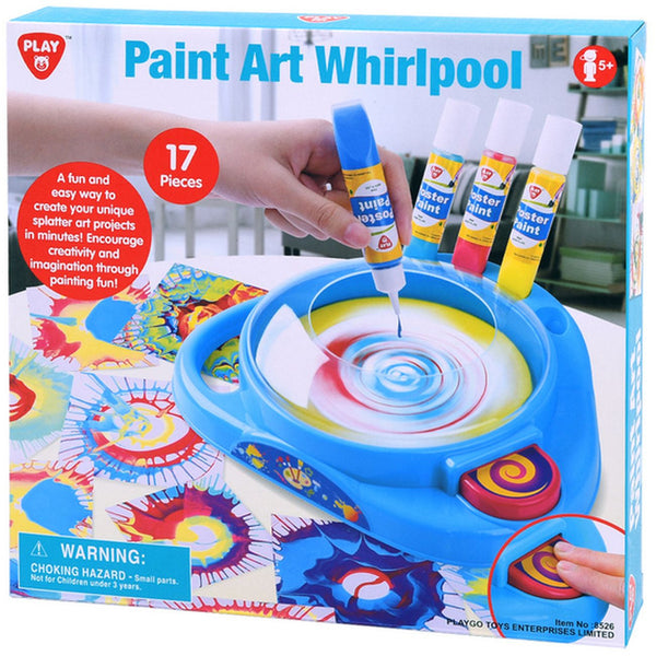Playgo Paint Art Whirlpool - Toyworld