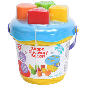 Playgo Shape Discovery Bucket - Toyworld