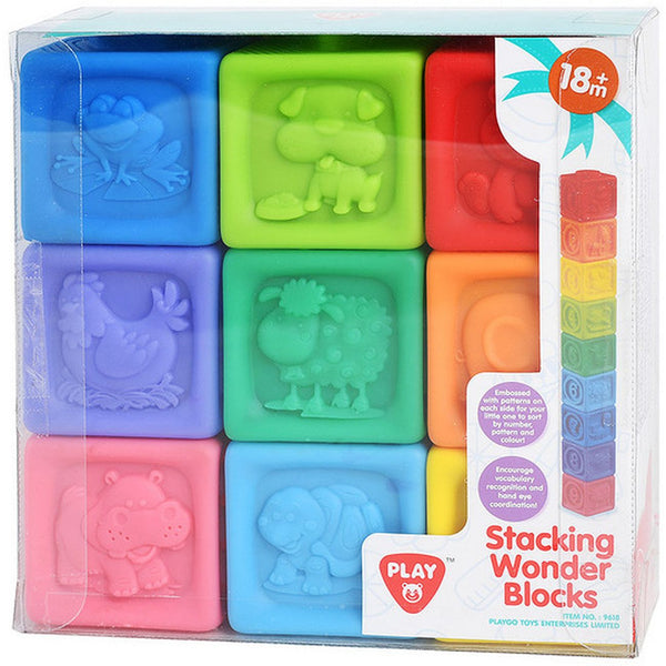 PLAYGO STACKING WONDER BLOCKS