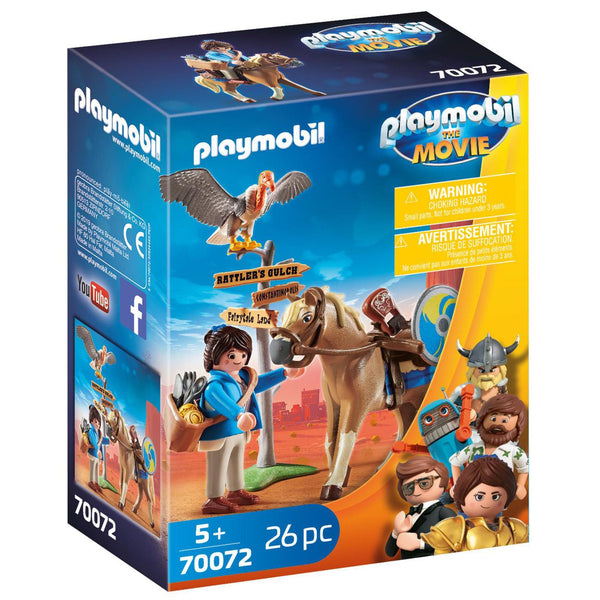 PLAYMOBIL 70072 MARLA WITH HORSE