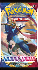 Pokemon Trading Card Game Sword & Shield Booster Pack Assorted Styles Img 2 - Toyworld
