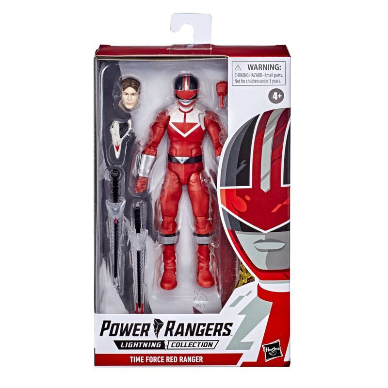 Power Rangers Lightning Collection 6 Inch Figure Time Force Red Ranger - Toyworld