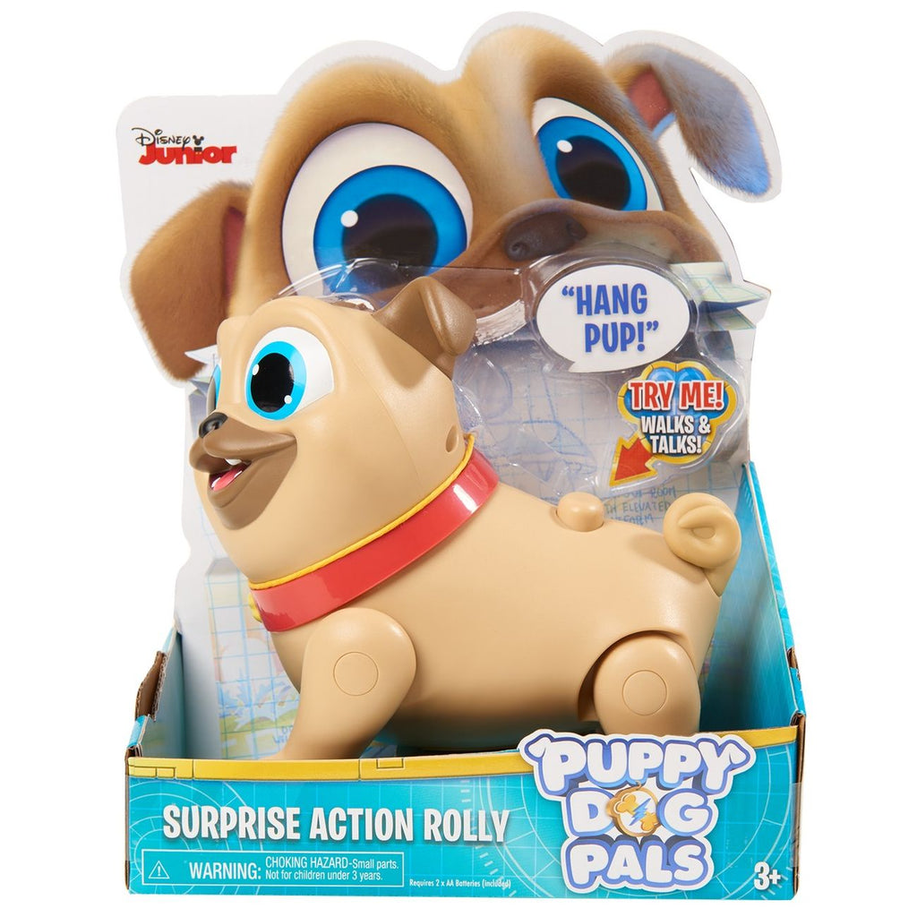 Puppy Dog Pal Surprise Action Rolly - Toyworld