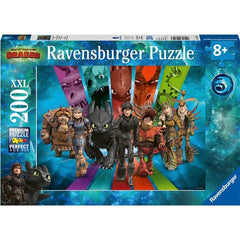 Ravensburger How To Train Your Dragon 200 Piece Puzzle - Toyworld