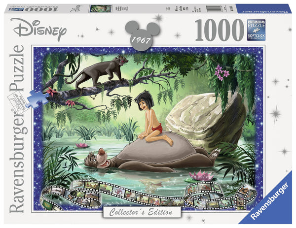 Ravensburger Disney Memories The Jungle Book 1967 1000 Piece Puzzle - Toyworld