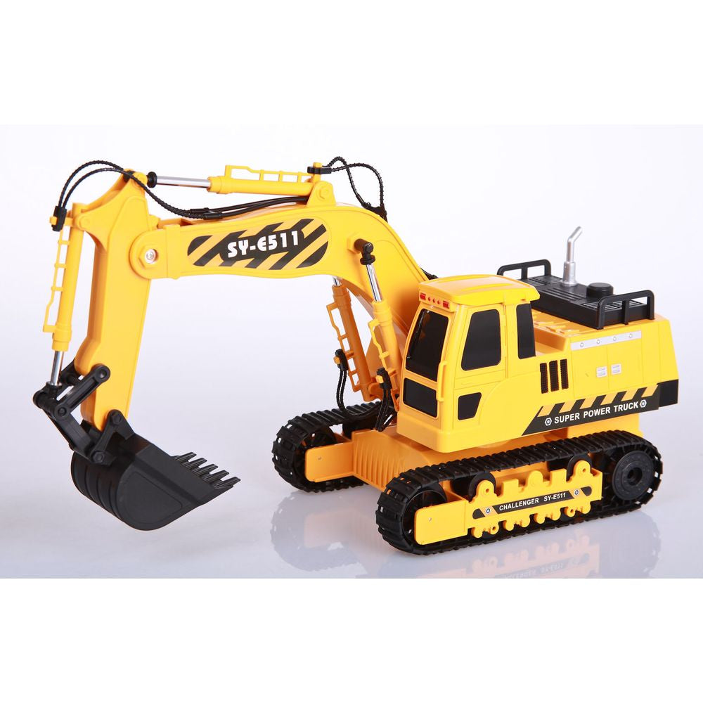 DOUBLE EAGLE 1:20 RC EXCAVATOR WITH LIGHT AND SOUND - Toyworld
