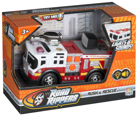 ROAD RIPPERS MINI RUSH AND RESCUE FIRE TRUCK WITH HOSE