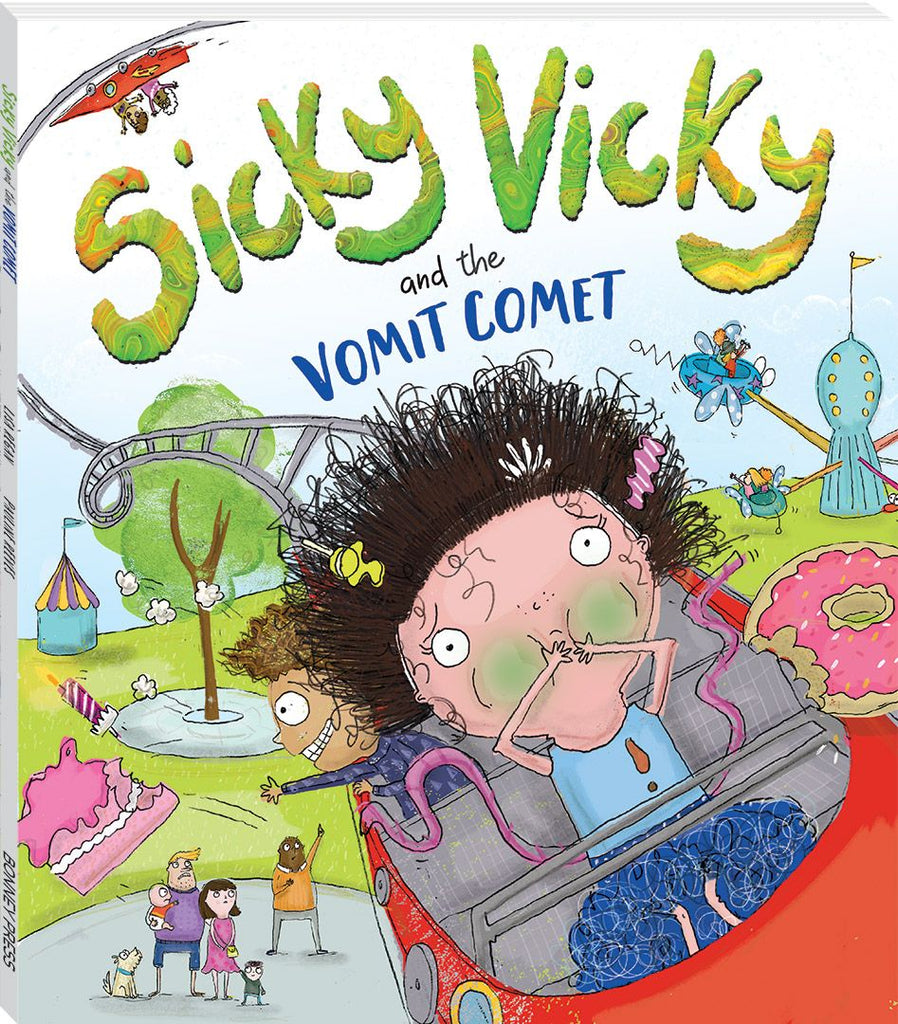 Sicky Vicky Storybook - Toyworld