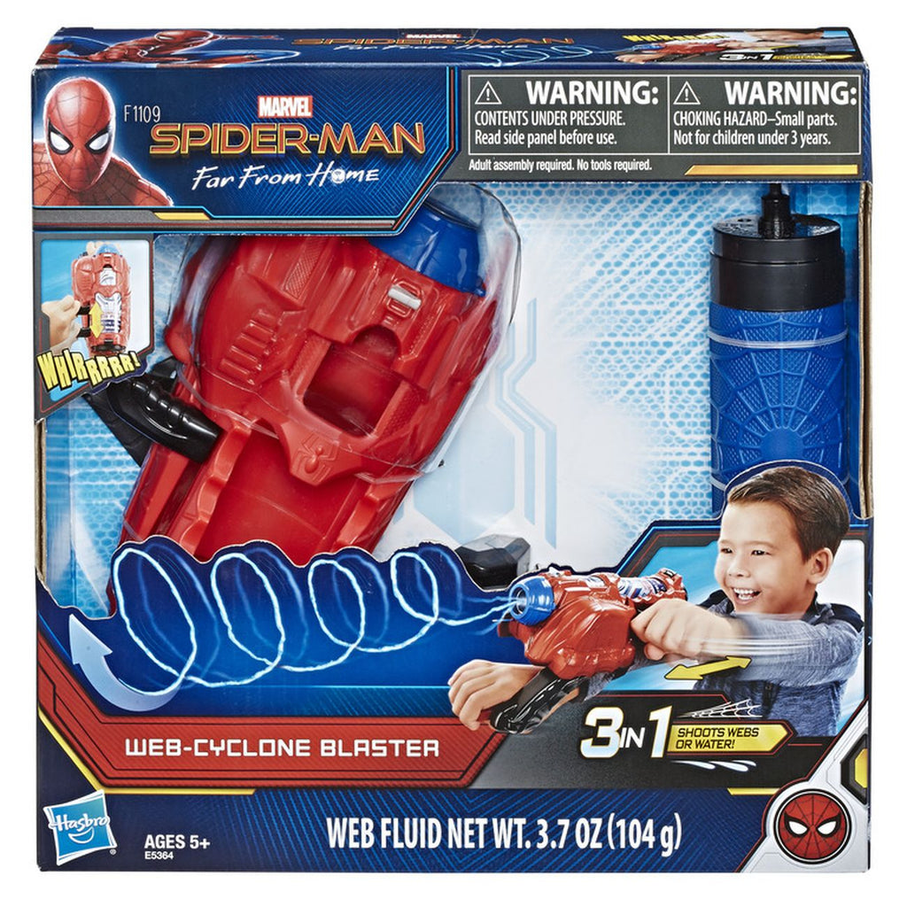 Spiderman Web Cyclone Blaster - Toyworld