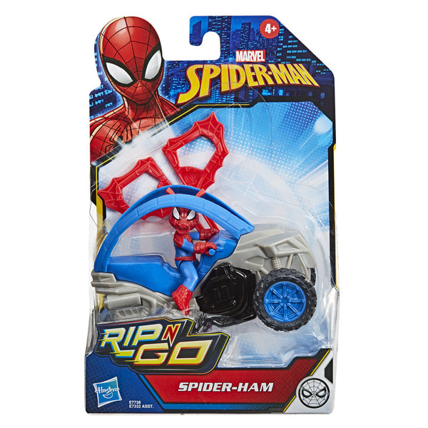 Spiderman Rip N Go Vehicle Spider Ham - Toyworld