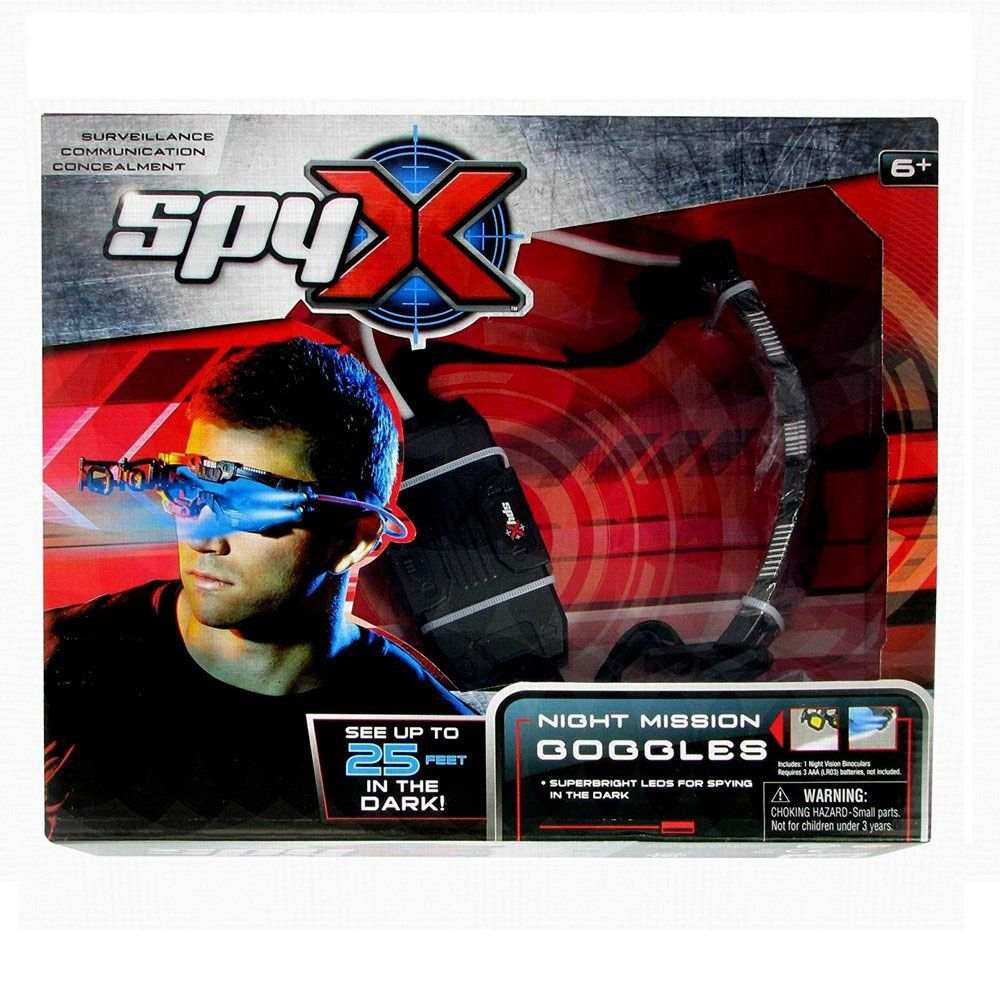 Spyx Night Vision Goggles - Toyworld