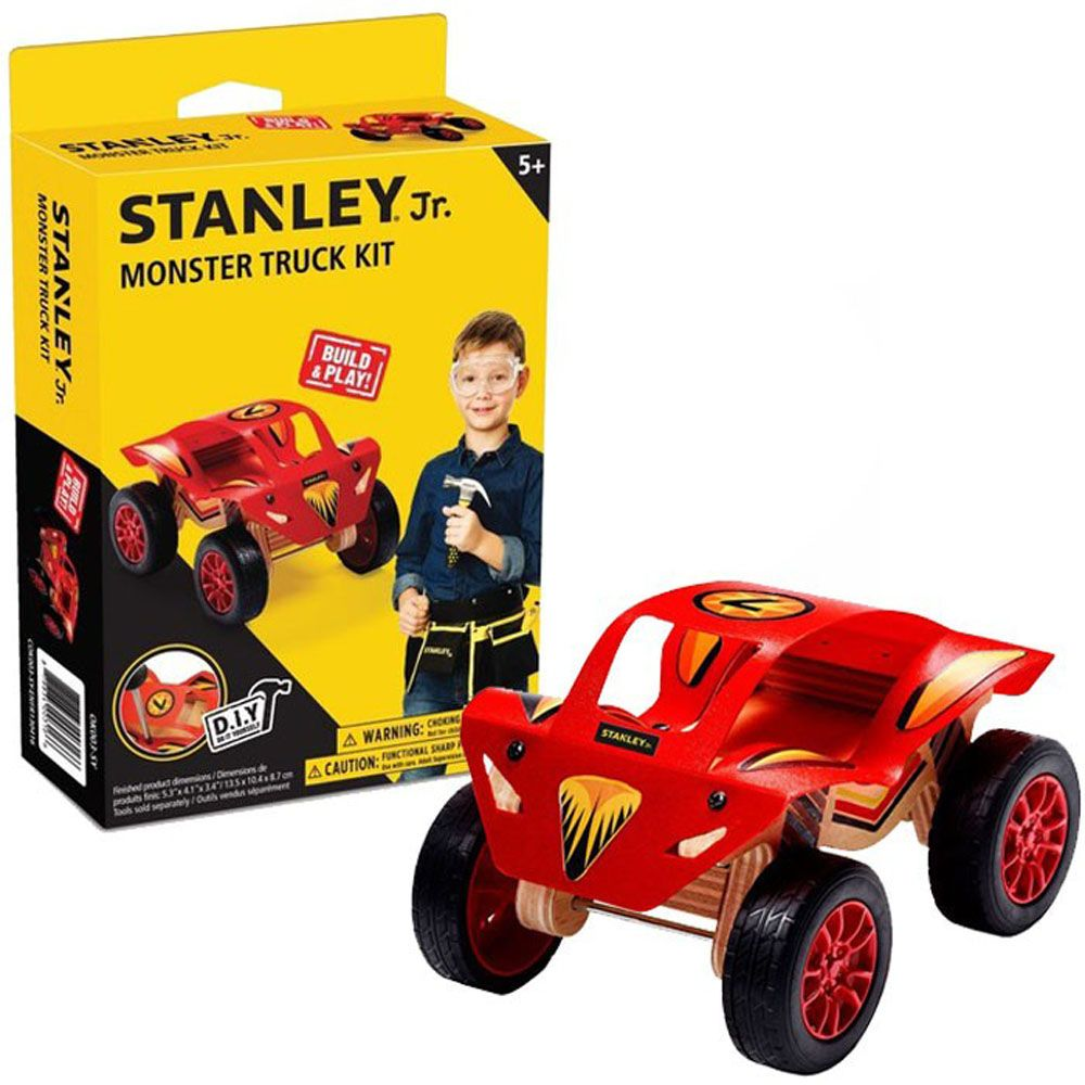 STANLEY JUNIOR MONSTER TRUCK KIT
